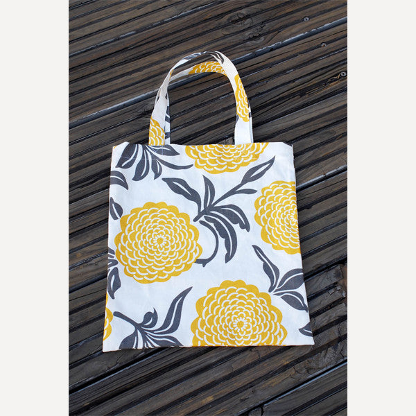 Yellow Peony Tote Bag - Readymade Objects Shop - 5