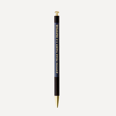PENCO Prime Timber-Brass Mechanical Pencil, Black Color - Readymade Objects Shop - 1
