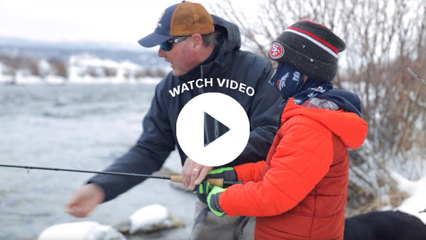Fishing Madison on NYD Video