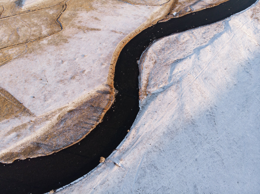 Madison River From Above