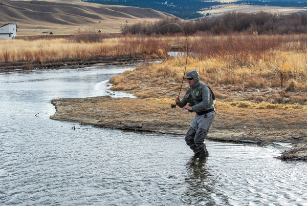 Fly Fishing In March In Montana