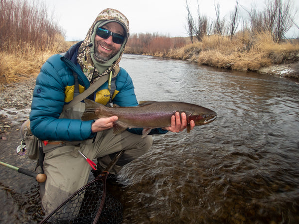 Winter Fly Fishing Montana