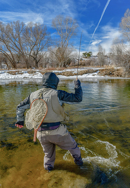 Winter Hook Up - Fly Fishing Montana