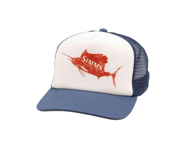 Simms Sailfish Trucker White