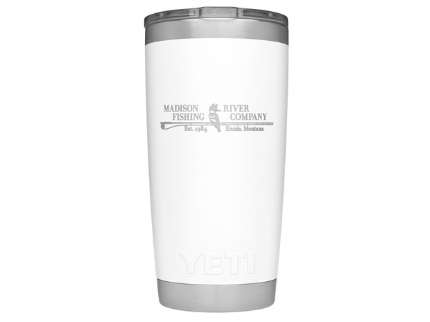 YETI 20oz. Rambler White MRFC Limited Edition