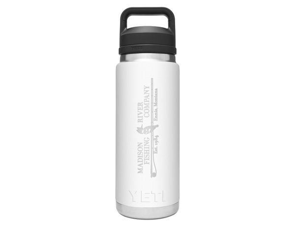 YETI Rambler 26oz. Bottle Chug MRFC Logo White