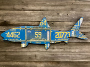 Cody Richardson License Plate Fish Pieces