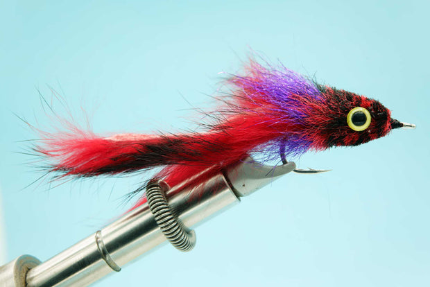 EP Tarpon Bunny Black/Red #2/0