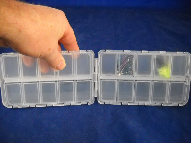 MRFC Logo 20 Compartment Fly Box
