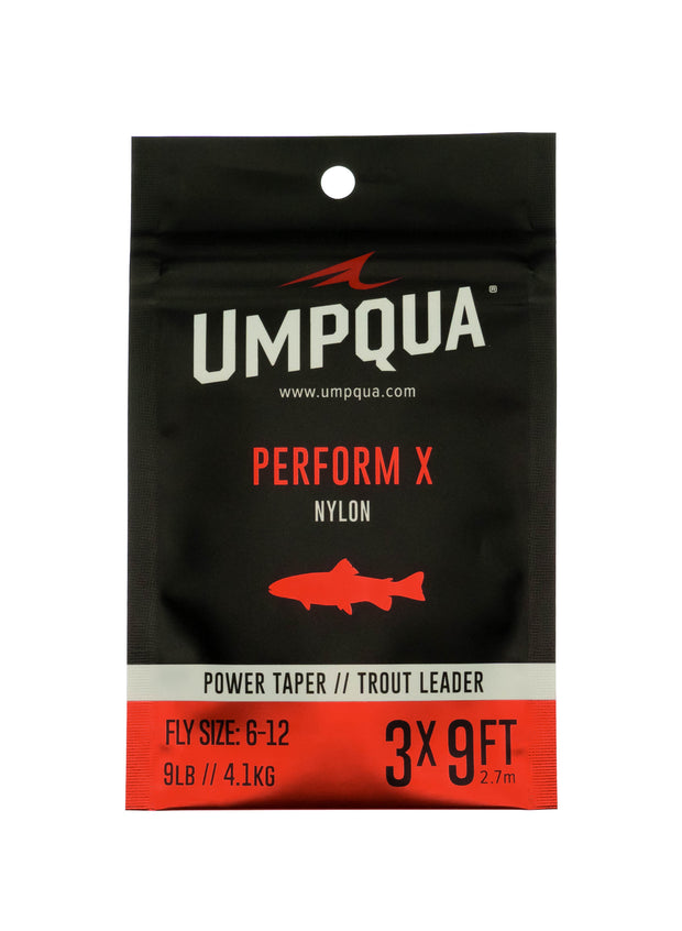 Umpqua Perform X Power Taper Trout Leader 7.5'