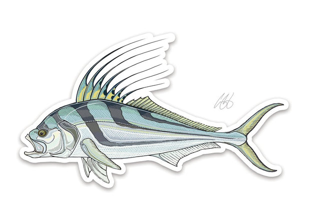 Roosterfish Sticker