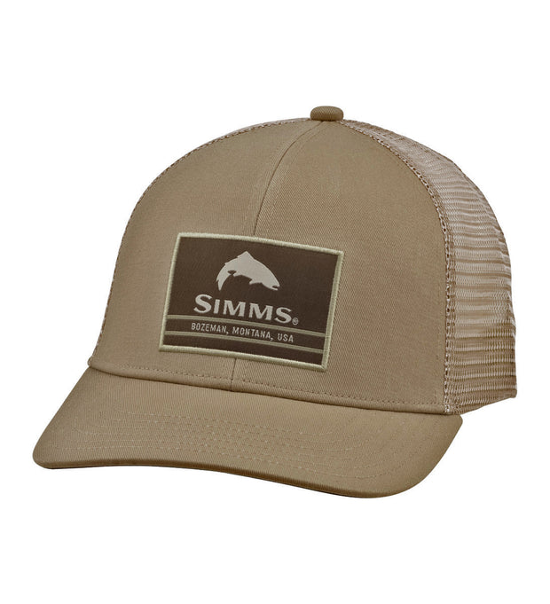 Simms Women's Patch Trucker Hat - Coffee
