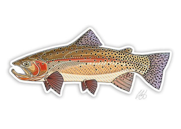 Yellowstone Cutthroat Sticker