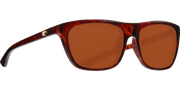 Costa Cheeca Sunglasses Shint Rose Tortoise Copper 580P