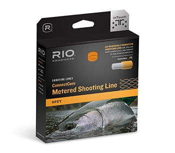 "RIO ConnectCore Metered Shooting Line .037"" Orange/Blue"
