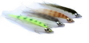 Fish-Skull Baitfish Heads - Silver