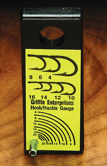 Griffin Hook Hackle Gauge