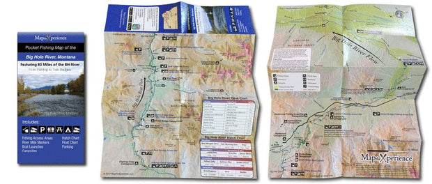 Big Hole River Pocket Map