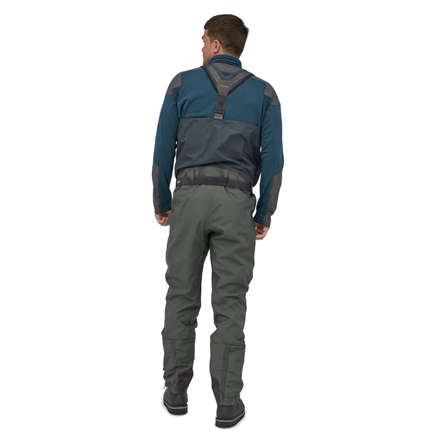 Patagonia Swiftcurrent Expedition Zip Front Waders Forge Grey