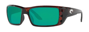 Costa Permit Sunglasses Tortoise Green Mirror 580G