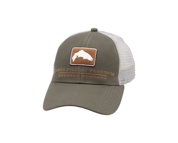 Simms Small Fit Trout Icon Trucker Hats
