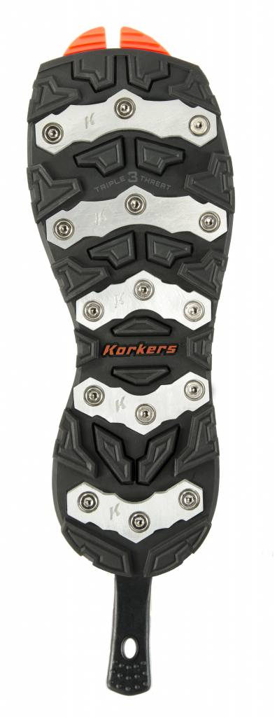 Korkers OmniTrax 3.0 Triple Threat Soles - Aluminum Bar