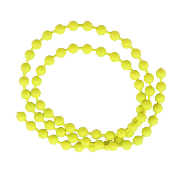 Fluorescent Bead Chain Fl. Chartreuse