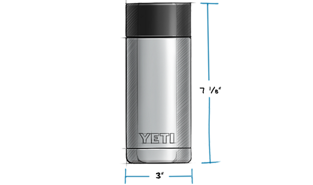 YETI Rambler 12 Bottle with HotShot Cap