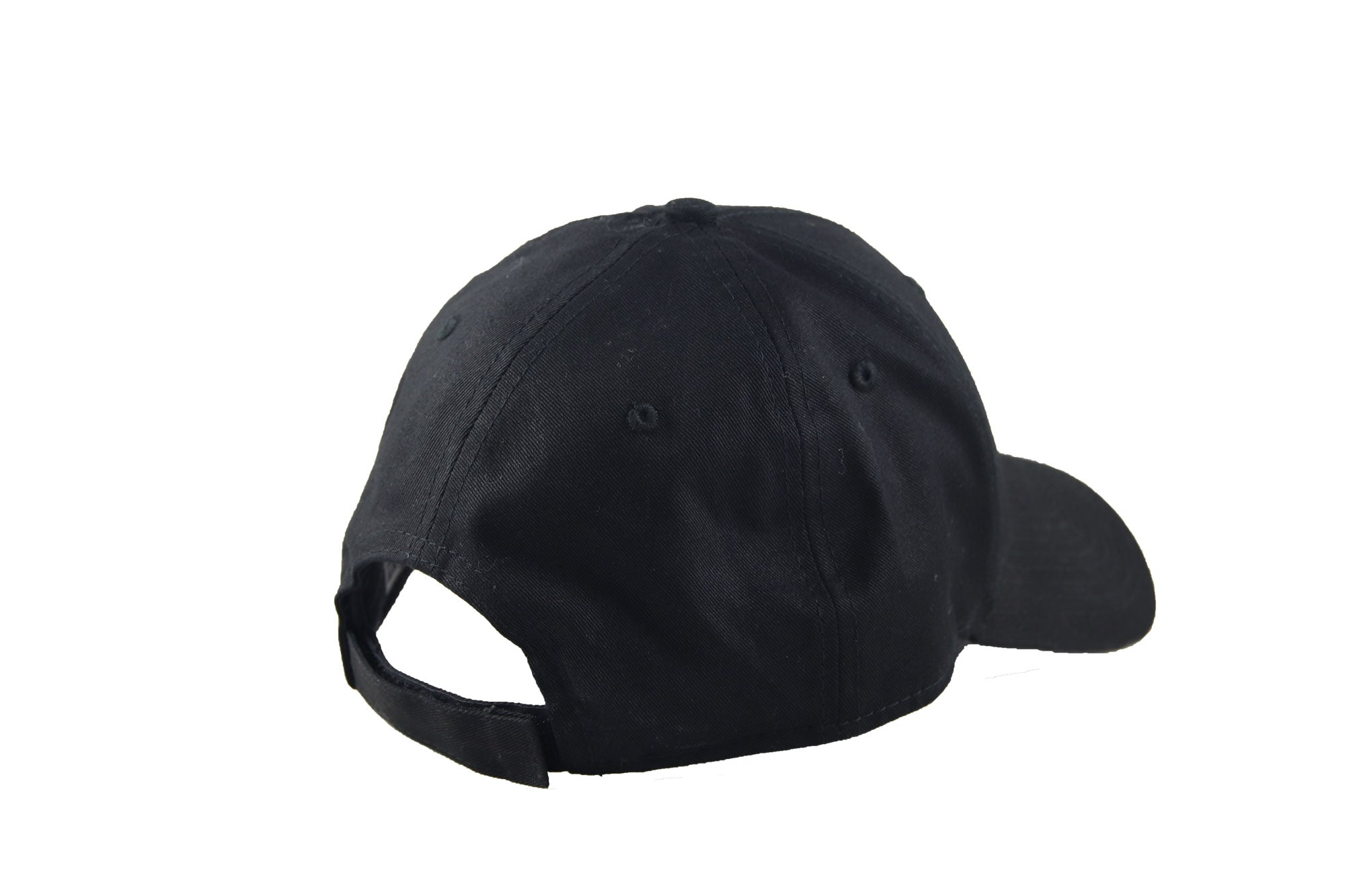 Back of Transcend logo cap black