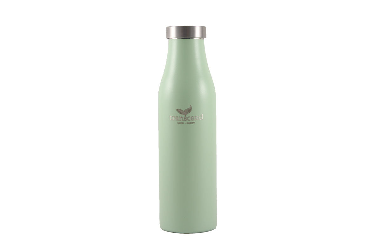 Transcend- Lamose Water Bottle in mint