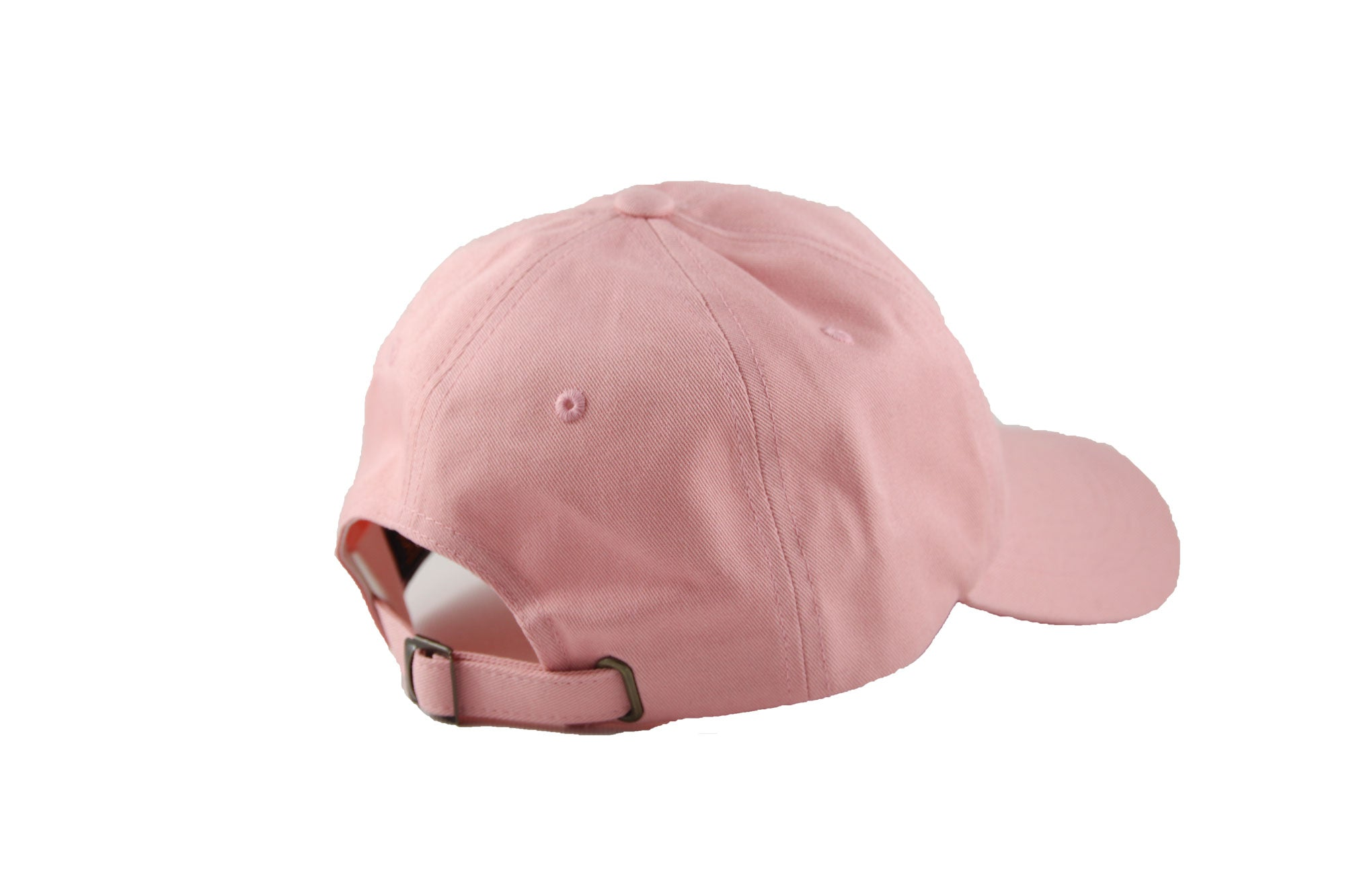 Back of Transcend logo cap in pink
