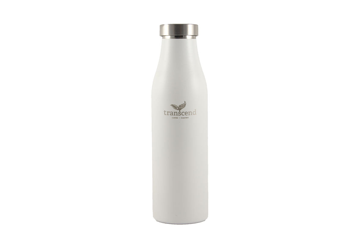 Transcend- Lamose Water Bottle in white