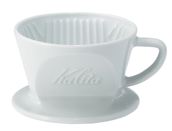 Kalita HA 101 Porcelain Dripper - Hazel & Hershey Coffee Roasters