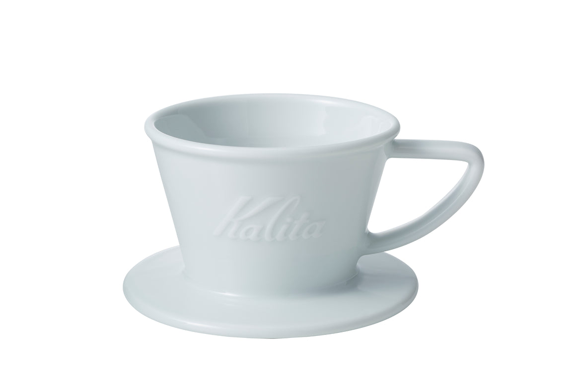 Kalita HA 155 Porcelain Wave Dripper - Hazel & Hershey Coffee Roasters