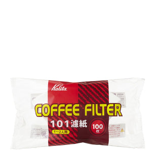 Kalita NK101 Coffee Filter White (100P) - Hazel & Hershey Coffee Roasters