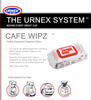 URNEX | CAFE COFFEE EQUIPMENT CLEANING WIPES (100)