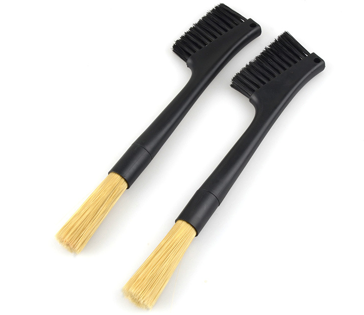 Espresso Grinder Brush Duo