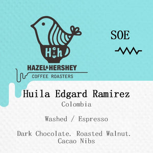 Colombia Huila Edgard Ramirez Washed
