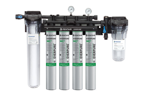 EVERPURE® HIGH FLOW CSR FILTRATION SYSTEM MC2 / MH2 FILTRATION SYSTEM W/PREFILTER