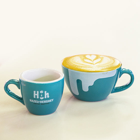 Hazel & Hershey Signature Coffee Cup - 3rd Anniversary Limited Edition (by Loveramics) - Hazel & Hershey Coffee Roasters