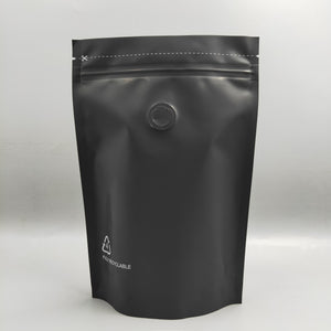 250g Recyclable Coffee Bag with Zipper & Valve