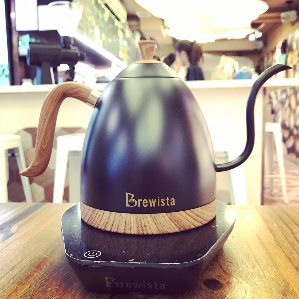 Brewista 1.0L Digital Variable Temperature Gooseneck Kettle - Hazel & Hershey Coffee Roasters