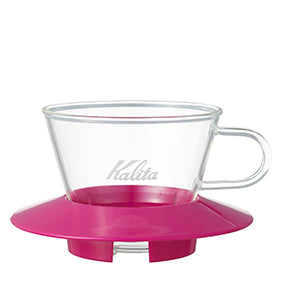 Kalita 155 Wave Series Glass Dripper - Hazel & Hershey Coffee Roasters