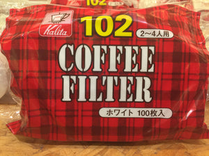 Kalita NK 101/102 Coffee Filter White (100P)