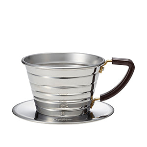 Kalita Stainless Wave Dripper 155 - Hazel & Hershey Coffee Roasters