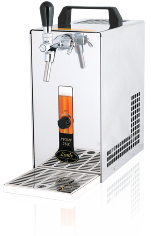 Lindr PYGMY 25/K dispenser for Nitro Coffee / Beer - Hazel & Hershey Coffee Roasters