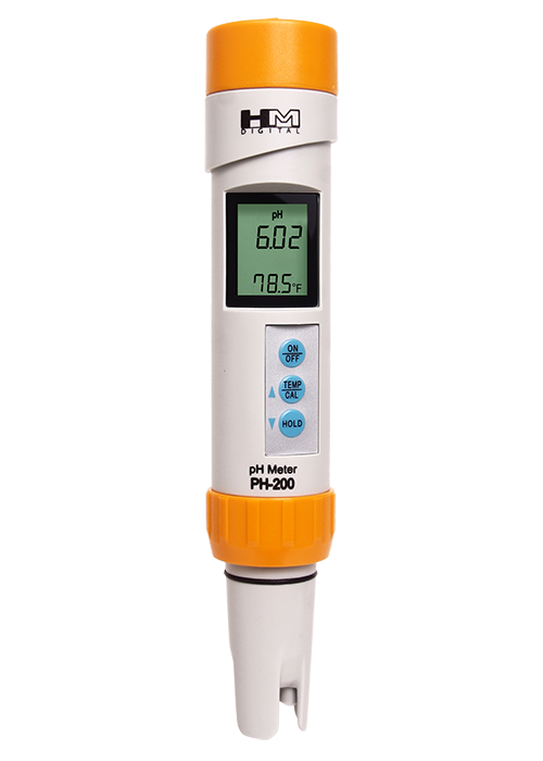 HM PH-200 Waterproof Professional Series pH/Temp Meter