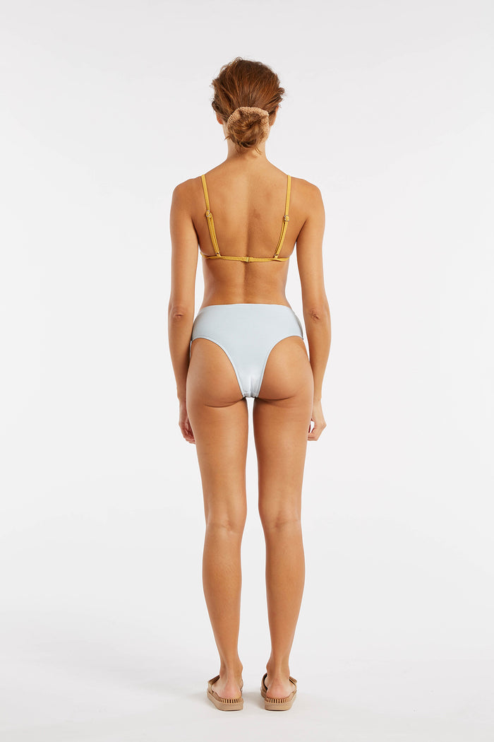 Signature Skimpy High Waisted Brief - Powder Blue