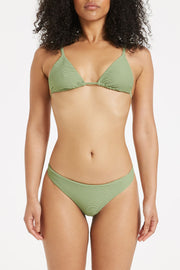Signature Skimpy Brief - Tallow Green