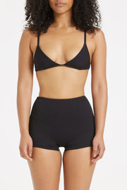 Signature Skimpy Tricup Top - Black